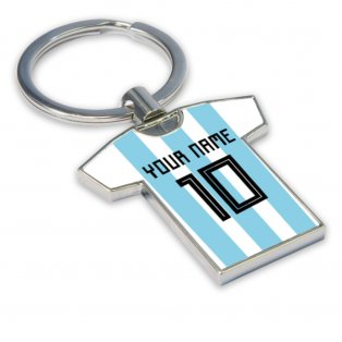 Personalised Argentina Key Ring