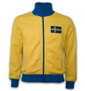 Sweden 1970's Retro Jacket polyester / cotton