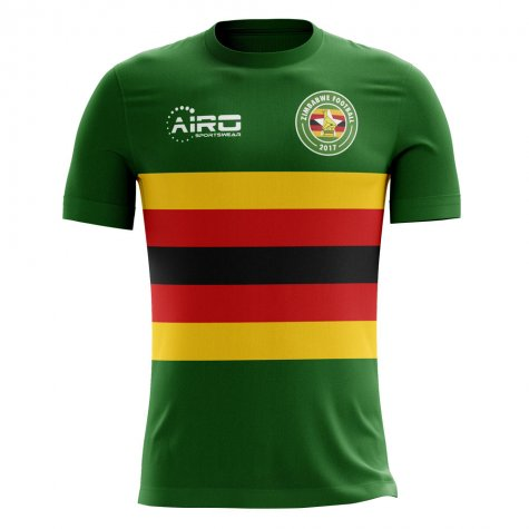 2020-2021 Zimbabwe Home Concept Football Shirt - Womens