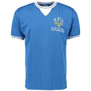 Score Draw Everton 1985 ECWC Final Home Shirt