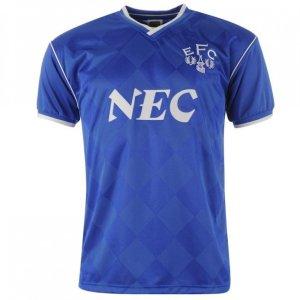 Score Draw Everton 1987 Home Shirt