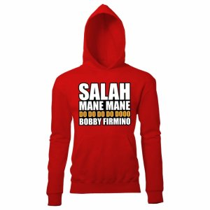 Salah Mane Mane Liverpool Hoody (Red) -Kids