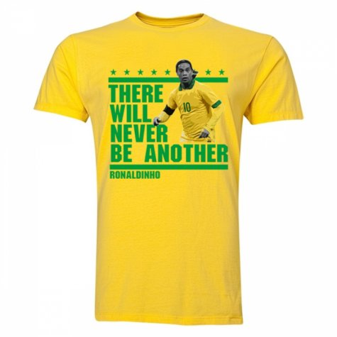 Ronaldinho There Will Be No Other T-Shirt (Yellow)