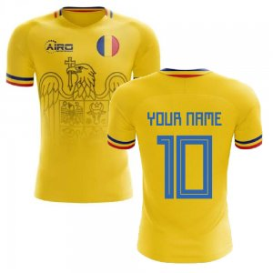 2020-2021 Romania Home Concept Football Shirt