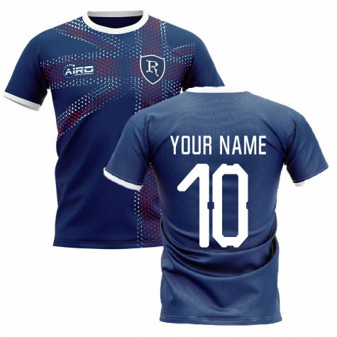 2019-2020 Glasgow Home Concept Football Shirt (Your Name)