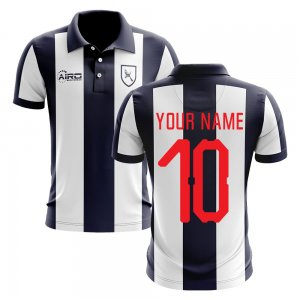 2020-2021 West Brom Home Concept Football Shirt (Your Name)