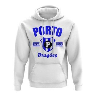 Porto Established Football Hoody (White)