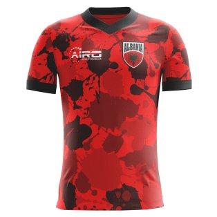 2020-2021 Albania Home Concept Football Shirt
