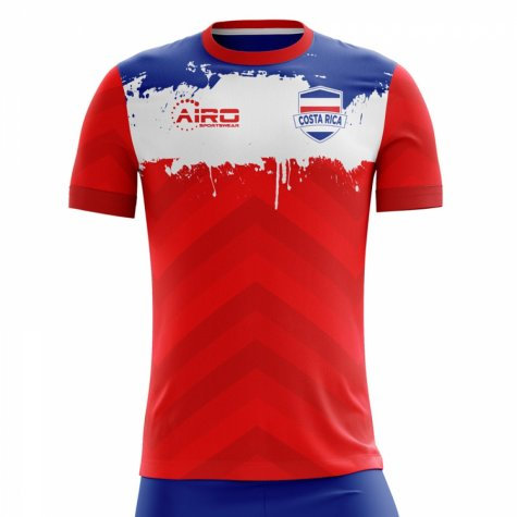 2018-2019 Costa Rica Home Concept Football Shirt (Kids)