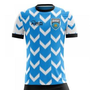 2018-2019 Uruguay Home Concept Football Shirt