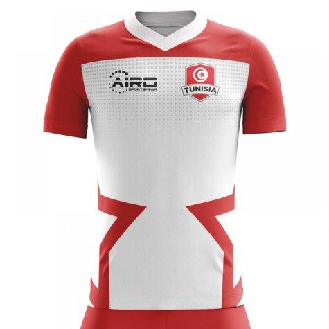 2020-2021 Tunisia Home Concept Football Shirt (Kids)