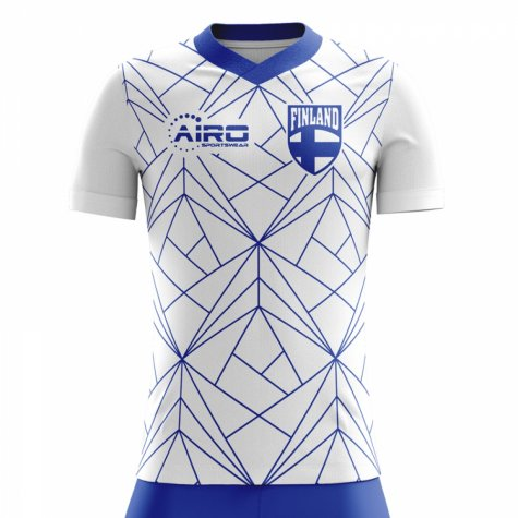 2020-2021 Finland Home Concept Football Shirt