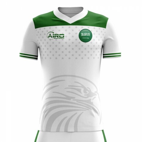 2018-2019 Saudi Arabia Home Concept Football Shirt