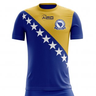 2020-2021 Bosnia Herzegovina Home Concept Football Shirt - Kids