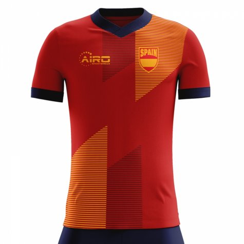 1fab385abe2 2018-2019 Spain Home Concept Football Shirt (Kids)  SPAINHKIDS ...