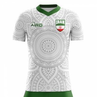 2020-2021 Iran Home Concept Football Shirt