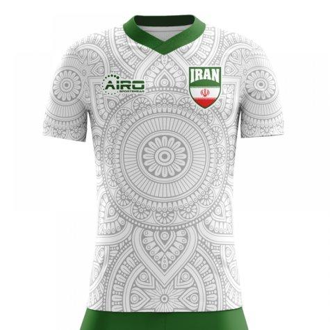 2018-2019 Iran Home Concept Football Shirt - Womens