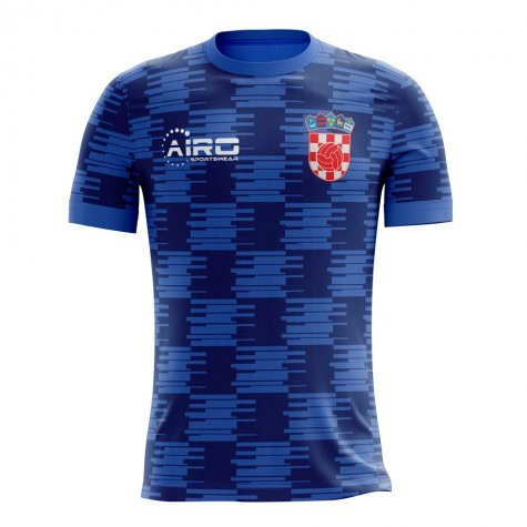 37ea4639307 2018-2019 Croatia Away Concept Football Shirt  CROATIAA  - Uksoccershop