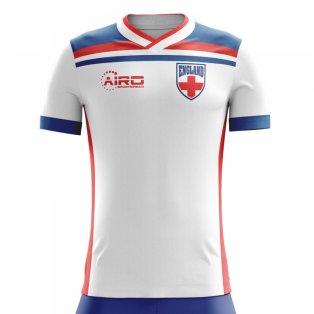 2018-2019 England Home Concept Football Shirt - Baby