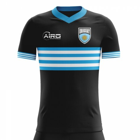 2018-2019 Uruguay Away Concept Football Shirt