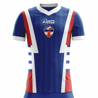 2020-2021 Yugoslavia Home Concept Football Shirt (Kids)