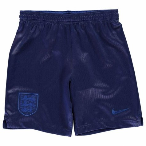 2018-2019 England Nike Home Shorts (Navy) - Kids