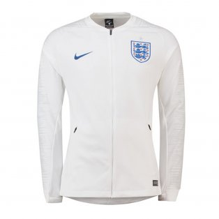 2018-2019 England Nike Anthem Jacket (White) - Kids