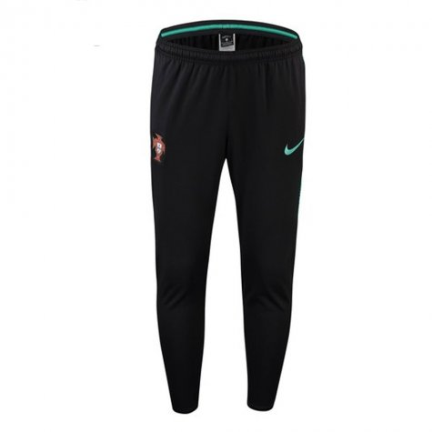 2018-2019 Portugal Nike Squad Training Pants (Black)