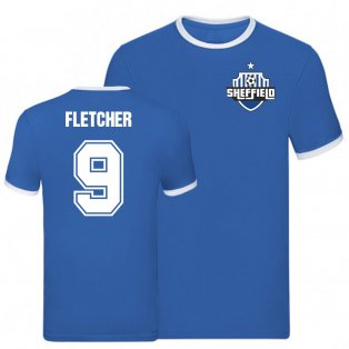 Steven Fletcher Sheffield Wednesday Ringer Tee (Blue)