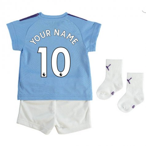 2019-2020 Manchester City Home Baby Kit (Your Name)