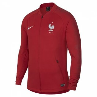 2018-2019 France Nike Anthem Jacket (Red) - Kids