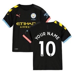 2019-2020 Manchester City Puma Away Football Shirt (Kids)