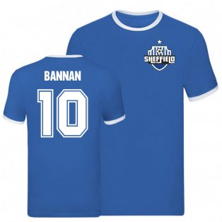 Barry Bannan Sheffield Wednesday Ringer Tee (Blue)