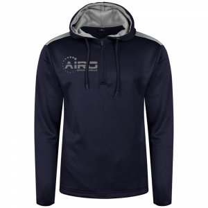 Airo Sportswear Heritage Hoody (Navy-Silver)