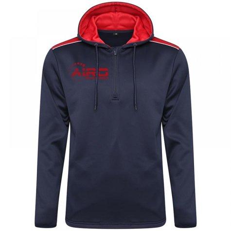 Airo Sportswear Heritage Hoody (Navy-Red)