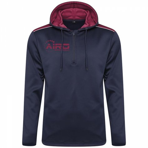 Airo Sportswear Heritage Hoody (Navy-Maroon)