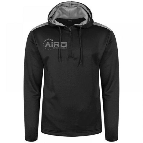 Airo Sportswear Heritage Hoody (Black-Silver)