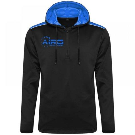 Airo Sportswear Heritage Hoody (Black-Royal)