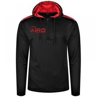 Airo Sportswear Heritage Hoody (Black-Red)