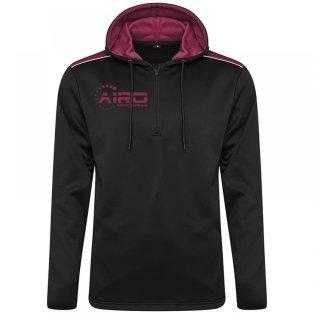 Airo Sportswear Heritage Hoody (Black-Maroon)