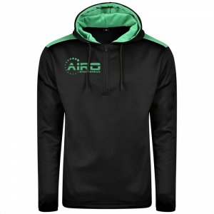 Airo Sportswear Heritage Hoody (Black-Emerald)
