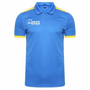Airo Sportswear Heritage Polo Shirt (Royal-Yellow)