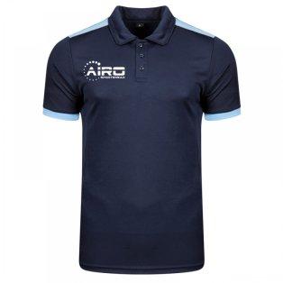 Airo Sportswear Heritage Polo Shirt (Navy-Sky)