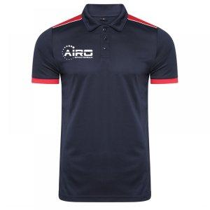 Airo Sportswear Heritage Polo Shirt (Navy-Red)