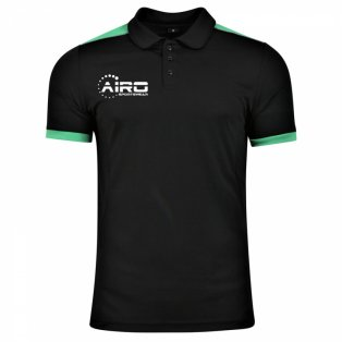 Airo Sportswear Heritage Polo Shirt (Black-Emerald)