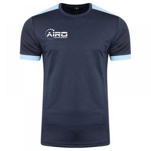 Airo Sportswear Heritage Training Tee (Navy-Sky)