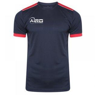 Airo Sportswear Heritage Training Tee (Navy-Red)