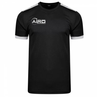 Airo Sportswear Heritage Training Tee (Black-Silver)
