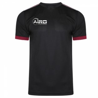 Airo Sportswear Heritage Training Tee (Black-Maroon)