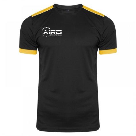 Airo Sportswear Heritage Training Tee (Black-Amber)